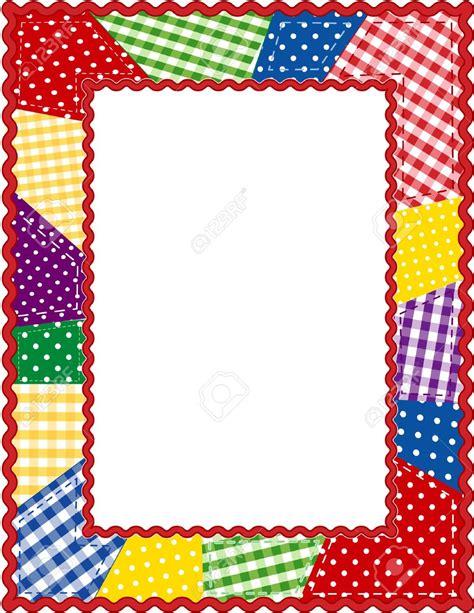 Patchwork Borders - quilt border clipart clipartfest clipartix