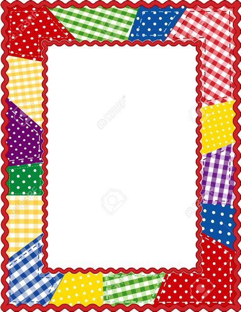 christmas quilts borders clipart   Clipground