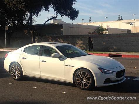 Maserati Pasadena by Maserati Ghibli Spotted In Pasadena California On 10 18 2016