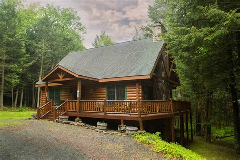 Log Cabin Homes New York by Sullivan County Lake Front Real Estate