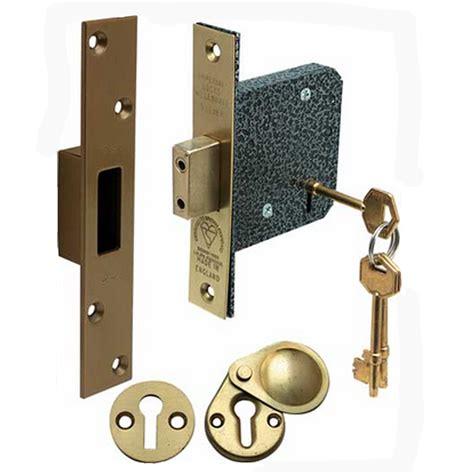 Deadlock Door Knob by Snobsknobs 5 Lever Standard Mortice Deadlock Snobsknobs