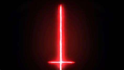 lightsaber color test after effect kylo ren light saber test 2016