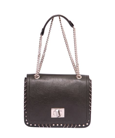 Marquise Bag Handbag Tas Wanita emilio pucci leather marquise piercing bag in black lyst