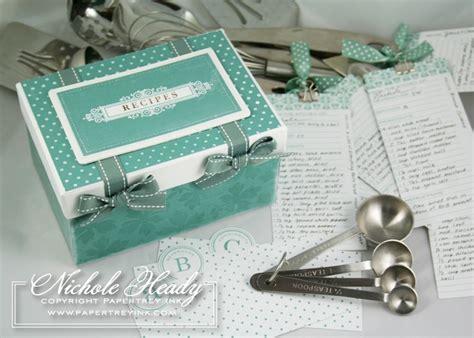 Handmade Recipe Box - recipes recipe boxes
