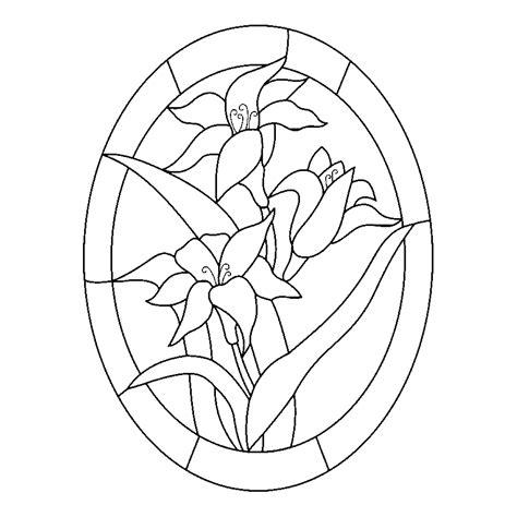 imagenes para pintar vitrales dibujos de vitrales de flores para colorear