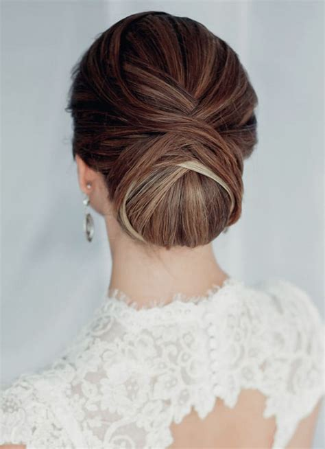 Wedding Hairstyles Classic by 7 Diff 233 Rents Styles De Chignon Pour Le Mariage