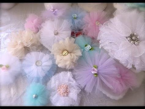 Hello Flower Tule cheap and chic and pretty tulle flowers