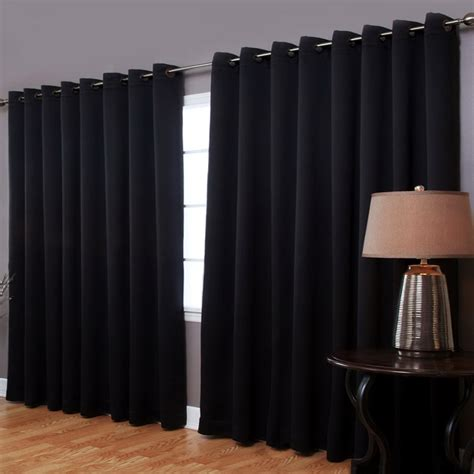 black blackout curtains black blackout curtains grommet home design ideas