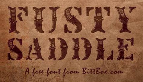 tattoo fonts western it s a rustic westernstyle font similar in style to the