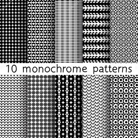 download pattern fills xlam 10 monochrome seamless patterns for universal background