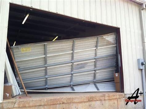 Commercial Garage Door Springs by Repair Garage Doors Broken Springs Replace Commercial