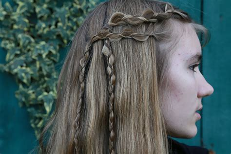 vikings braids how to viking inspired braids with how to hair girl hair romance