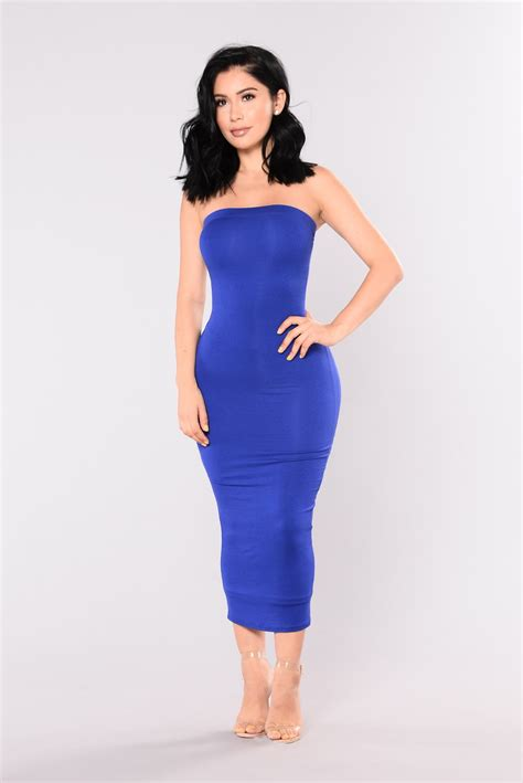 Dress Model Blue Fashion Impor dress royal