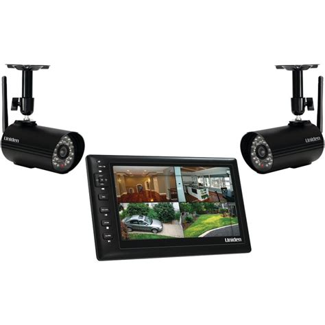 wireless surveillance system uniden uds655 wireless surveillance system 7 quot monitor 2