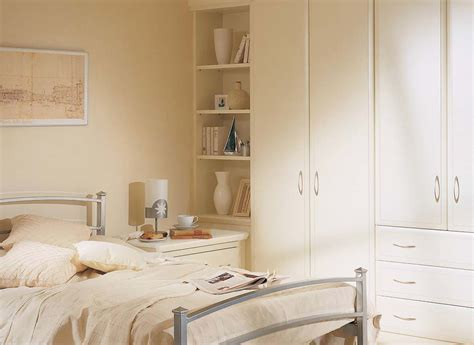 White Corner Unit Bedroom Furniture Alto Fitted Bedroom In Alabaster White By Strachan