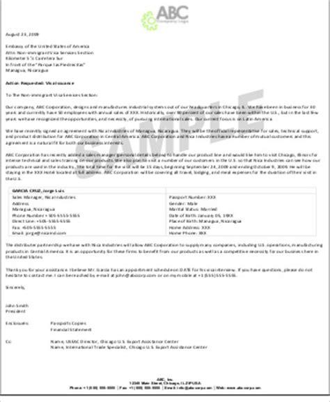 Invitation Letter For Visa Company Sle Invitation Letter For Visa 9 Exles In Word Pdf