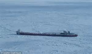 iced in ten days trapped on the edge of antarctica books freighter trapped in finally rescued by canadian coast