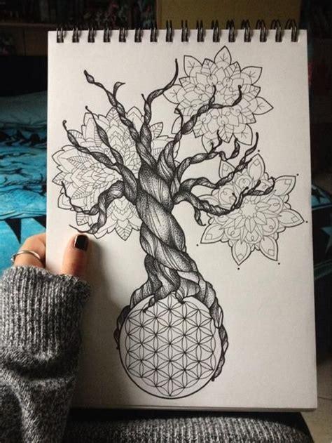 tattoo mandala tree seed of life tree of life flower of life mandalas