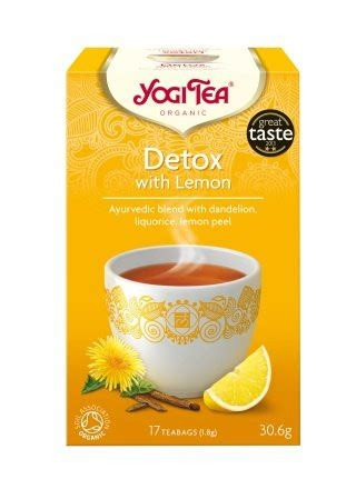 Renew Detox Tea by Yogi Organic Tea Detox Cleanse Renew For A Fresh Start