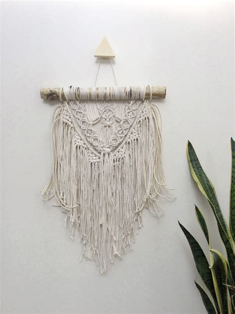 Macrame Tapestry - 16 small macrame wall hanging tapestry macrame by niromastudio