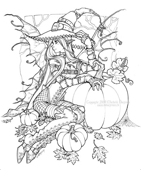 anti stress coloring book hobby lobby hallow s fae by michellehoefener on deviantart