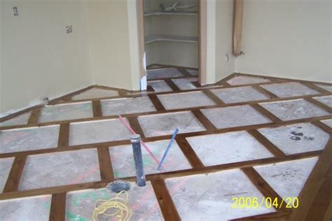tile inlay wood flooring with tile inlays studio design gallery