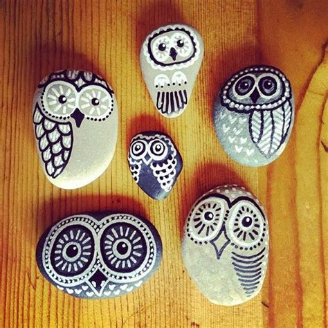 Home Decor Owls by Pintar Y Decorar Piedras A Mano Consejos B 225 Sicos E Ideas