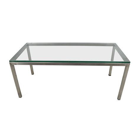 room and board glass coffee table second coffee tables on sale