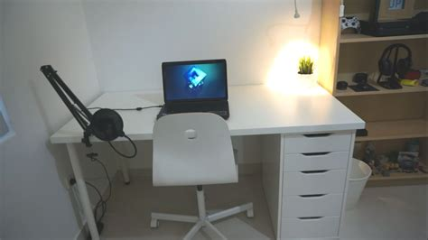 Home Computer Desks With Hutch Office Astounding Ikea Desktop Ikea Linnmon Table Top