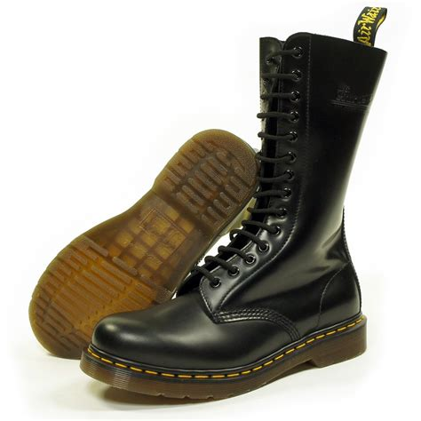 doc martens mens boots doc martins black 14 eyelet 1914 mens boot dr martins