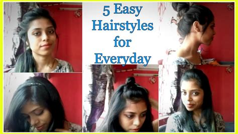 easy hairstyles for office party how to do 5 easy everyday hairstyles 2017 summer