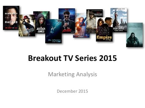 Tv Series For Mba by Breakout Tv Series 2015 Marketing Analysis