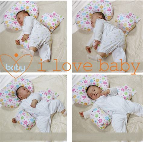 baby anti rollover sleep positioner support pillow many