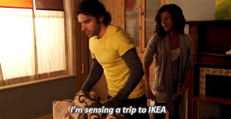 ikea gif a typical trip to ikea the good bad and ugly gifs huffpost