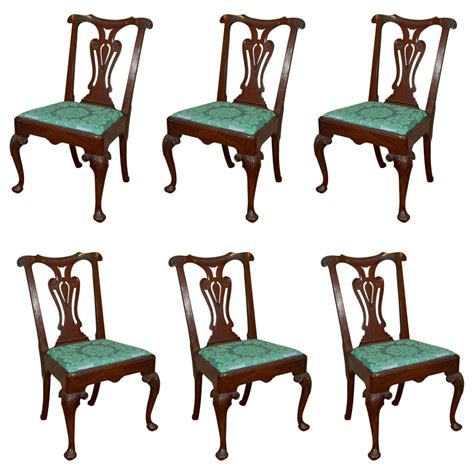 Dining Room Furniture Ireland Set Of Six 18th Century Georgian Dining Chairs For Sale At 1stdibs