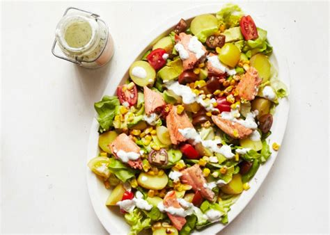 Fast Easy Dinner Salad With Saganaki by Sweet Potato 5 And Easy Summer Dinner Salads
