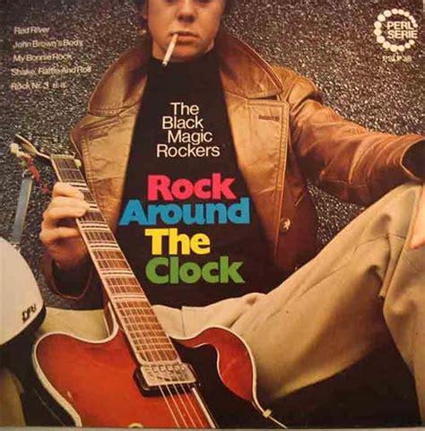 The Black Mage Rock the black magic rockers rock around the clock near mint perl serie vinyl lp ebay