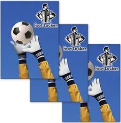 foot locker pavia lenticular sticker soccer goalie deflects goal attempt