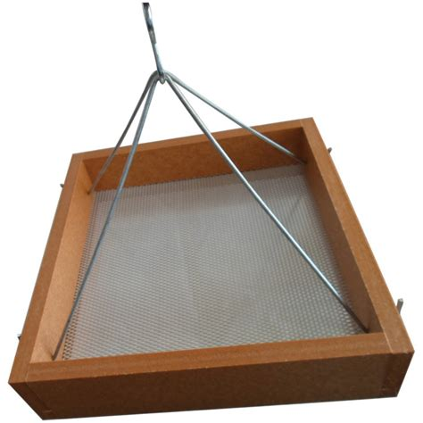 green solutions hanging tray bird feeder small by green