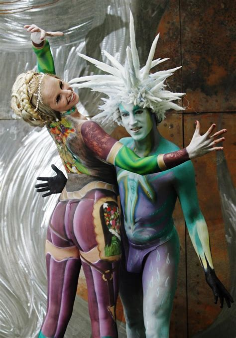 2011 World Bodypainting Festival The Photos