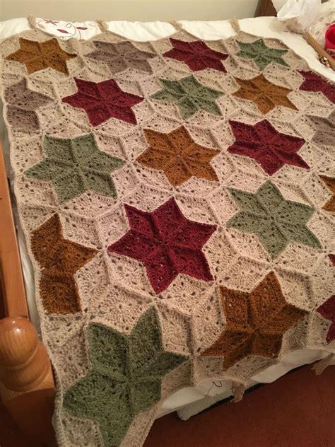 quilt pattern crochet afghan star crochet blanket afghan made using aran weight yarn