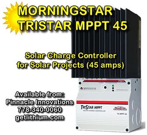 Ts Mppt 45 Tristar Morningstar Solar Charge Controller morningstar 12 volt 24 volt 48 volt mppt solar pv charge controllers for solar pv panel