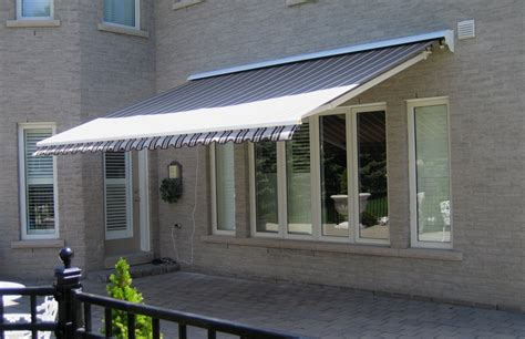 retractable awnings toronto motorized awning rolltec 174 retractable awnings toronto ontario canada