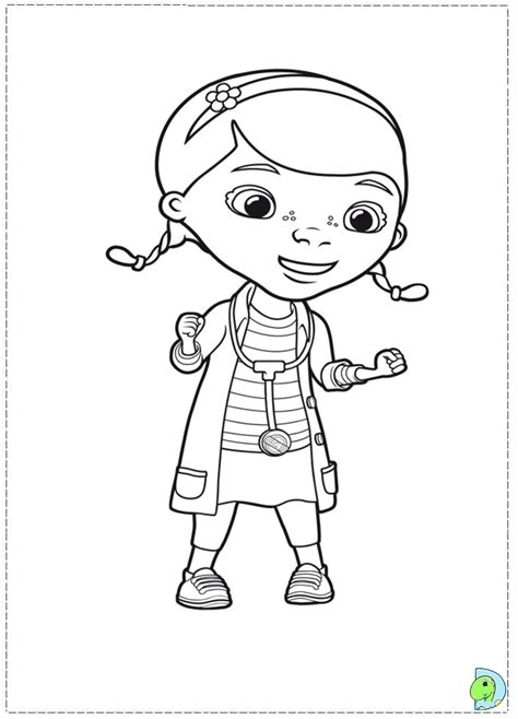 coloring pages doctor mcstuffins doc mcstuffins coloring pages dr odd