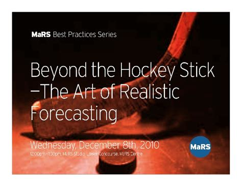 strategy beyond the hockey stick probabilities and big to beat the odds books mars best practices beyond the hockey stick the of