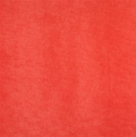Coral Upholstery Fabric by Spice Orange Coral Plain Microfiber Upholstery Fabric