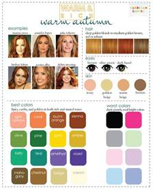 warm autumn color palette color analysis 3 degrees of warm rich