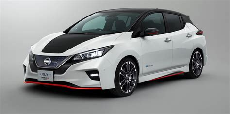nissan lea nissan leaf nismo concept revealed ahead of tokyo show