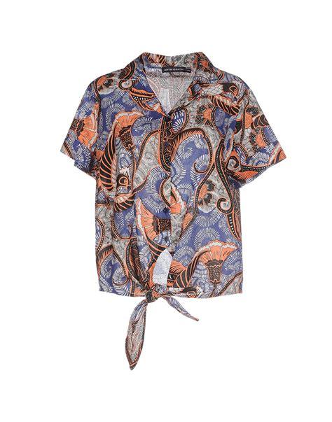 Shopping Silver Erin Dress By Antik Batik by Antik Batik Shirt In Blue Lyst