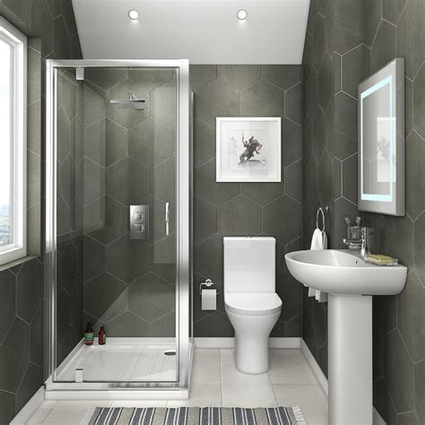 On Suite Bathroom Ideas by Space Saving En Suite Bathroom Plumbing Uk